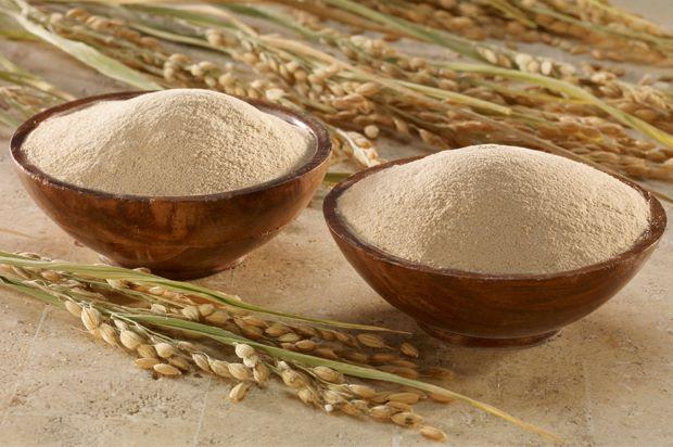 tắm trắng với cám gạo