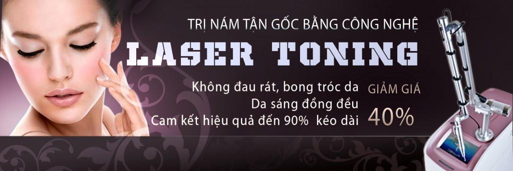 Trị nám tận gốc bằng công nghệ Laser Toning