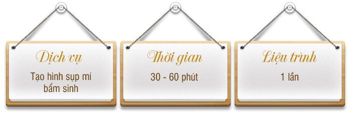Tgian-lieutrinh Tao hinh sup mi bam sinh