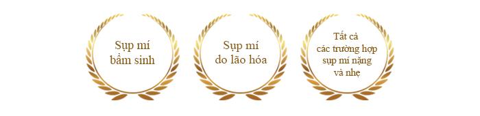 chi dinh dieu tri - Phau thuat sup mi bam sinh