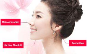 Nâng mũi bọc sụn Hàn Quốc an toàn và đẹp tự nhiên