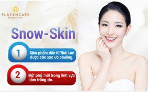 Tắm trắng siêu đỉnh cùng công nghệ Snow-Skin