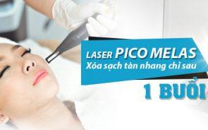 Trị tàn nhang tận gốc với công nghệ Laser Pico Melas
