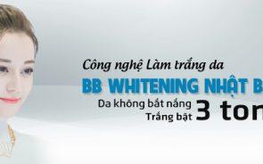 Công nghệ làm trắng da BB Whitening Nhật Bản