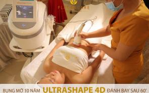 Công nghệ giảm béo 4 lớp Ultrashape 4D tại Placencare